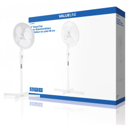 Table fan 40 cm has 3 speeds and oscillation button to hq-FN16