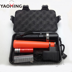 Baton lumineux q5 300ml mini cree torche rechargeable Eclairage 3w rouge circulation route zoomable