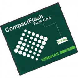 Carte memoire compact flash 512mo cartes compact flash informatique memorisation