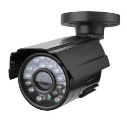 CCTV Security Camera 1/3 '' SONY CMOS 1200TVL metallo IP66 24 LED IR di colore di visione notturna di sorveglianza Home Video