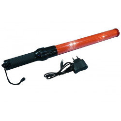 Baton rechargeable torch light red traffic signaling plane car road policing