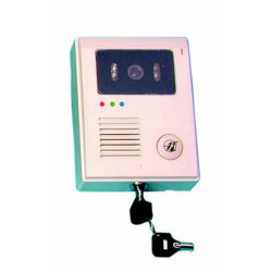 Interphone video couleur saillie cam15 pour portier interphone video pvc camset8