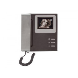 Video security b w monitor for pvn14 camset14