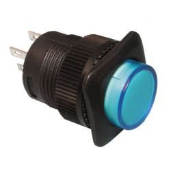 Push button switch on off with blue led