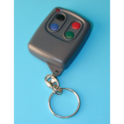 Remote control 4 channel miniature remote control, 433mhz 30 100m doors gates automations self motorisations alarms remote contr