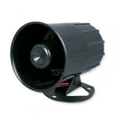 Electronic alarm siren 110db grey waterproof miniature siren