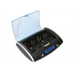 Universal fast unloader charger vle4 for nimh batteries with lcd display and usb