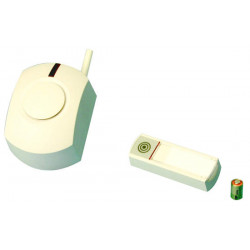 Chime wireless exterior chime pack (rc28 wireless bell button +rc11p alkaline battery +uc260 receiver ) wireless exterior chime