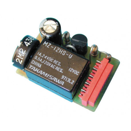 Electric module module of extra channel with time switch for re1f re13 progressive receiver electric modules modules extra chann