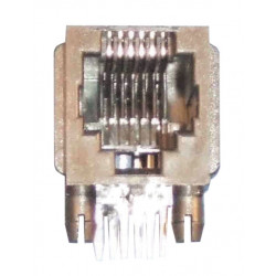 Base plate female rj12 for ci 6 stud 6 contact