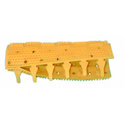 Brush with barbs yellow brush for sweepy m3 (1 item) 2 robotb are necessary for each robot brush with barbs yellow brush for swe