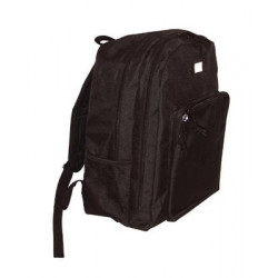 Sac a dos 22l 6 poches noir protection police armee militaire special securite