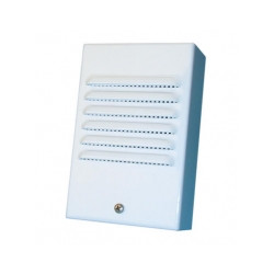 Sirene alarme electronique 110db 12v 7w interieure extérieure autoprotegee 1242 sonore