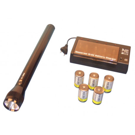 Pack torch lighting monitoring security guard vigil police armed police duty firefighter