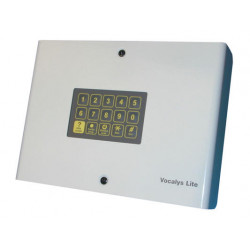 Telephone alarm transmitter with 4 numbers 6 messages + listen in function alarm transmission telephone alarm automatic telephon