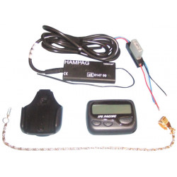 Universal pager alarm for car and motorcycle