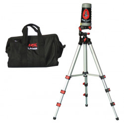 Laser level construction tripod construction type 2 + support + transport bag building ouskil0515ac