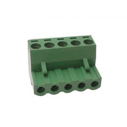 Female socket connector 5 poles
