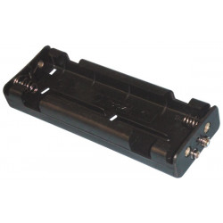 Battery holder for 6 x c cell (with snap terminals)