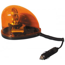 Beacon electric magnetic 24v 21w amber amber flashing light water drop magnetic