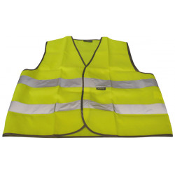 Reflective vest size l the 471 class 2 yellow road safety improvement visibility