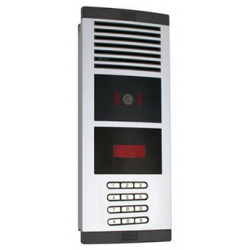 Video doorphone with coded digital keypad for doorphones