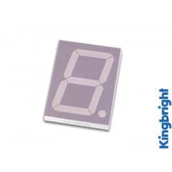 57mm single digit display common cathode hyper red
