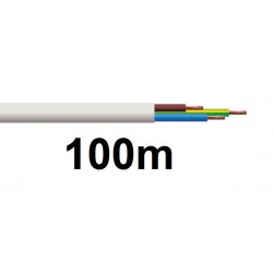 Electric cable, 3 wires 0.5mm2, 100m electrical cables for mains alimentation electric cable electric wir electric cables electr