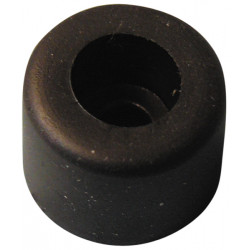 Piede diametro 16 mm in gomma nera qupc73516 parti, accessori