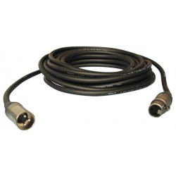 Cable xlr male to 3-pin female to 9 meters 2x1.5 pregnant