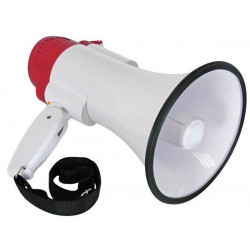 Megaphone 9w 10w 12w enregistrement son message sirene mp10sr amplificateur vocal bandouliere
