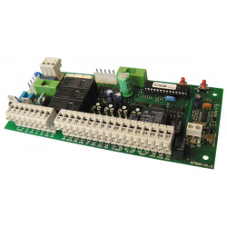 Extra electronic circuit for motorisation control panel 750d750m automatism