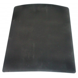 Bullet proof plate backward protection of gicp bulletproof vest protection class ii safety policy