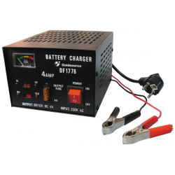Rechargeable battery charger 6v 12v car auto 220v 4a (metal case) 6/12vcc