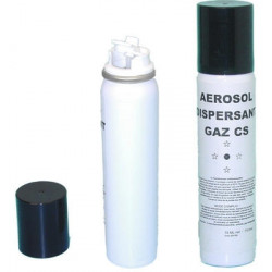 Grenade au gaz lacrymogene cs 2% 75 ml spray defense active securite