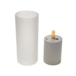 Candle led decorative lighting, battery low energy light sweet xmcl5 velleman