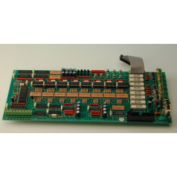 Electronic circuit 8 zone circuit for aef8, aef16, aef24 fire alarm control panel electronic circuit fire alarm control panel el