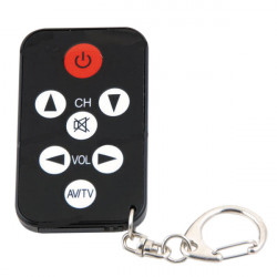 Mini universal tv remote encoded infrared commade television vcr