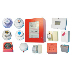 Pack fire detection system 24 zones fire detection central electronic fire detection