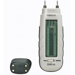 Moisture meter for wood and building material