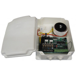 Central electronic gate automation kit for 2 doors or pk05d pk05g