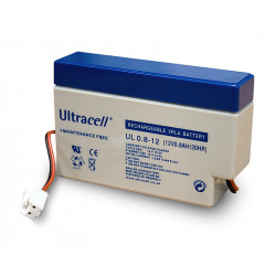 Rechargeable battery 12v 0.8ah 12vcc mp0.8 12 rechargeable battery lead calcium battery ul0.8 1