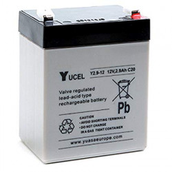 Rechargeable battery 12v 2ah 2.4ah 2.6ah rechargeable battery lead calcium battery 12vcc 2.8ah