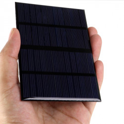 Solar Panel 12v 1.5w or 120mA Charger for battery power supply system