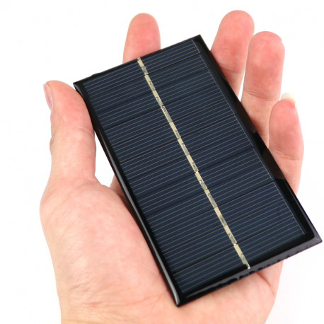 Solar Panel 6v 1w or 167mA Charger for battery power supply system
