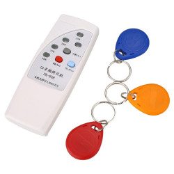 4 frequency RFID Copier/ Duplicator/ Cloner ID EM reader & writer+ 3pcs EM4305 T5577 writable keyfob