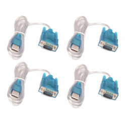 4 X Cable usb serial conversion lengh 1.80 m