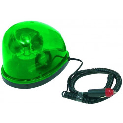Rotating light 12vdc 21w green drop water magnetic rotating light watter drop strobe light strobe warning emergency lights strob