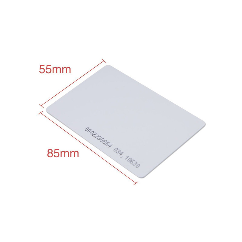 100 x T5577 Card Programmable RFID 125khz Rewritable Smart
