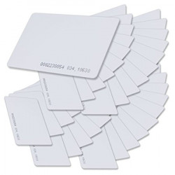 20 x T5577 Card Programmable RFID 125khz Rewritable Smart Tags In Access Control